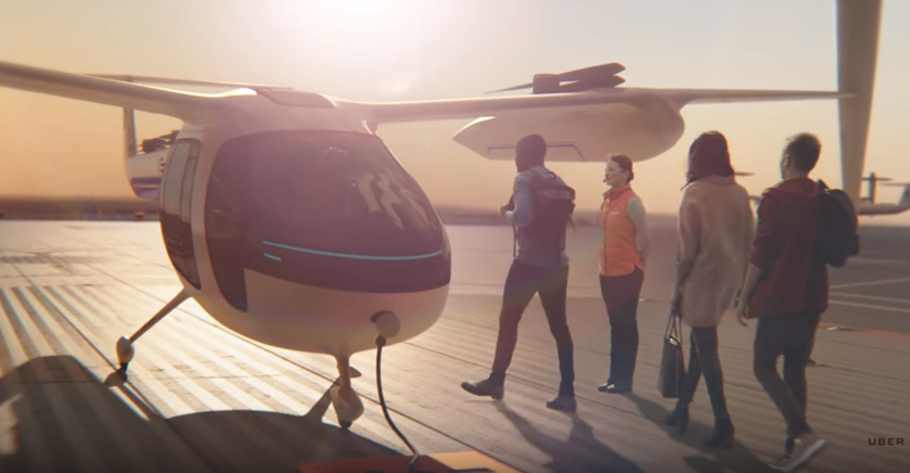 Uber's flying Taxi
