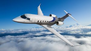 Bombardier Challenger 350 - courtesy Bombardier