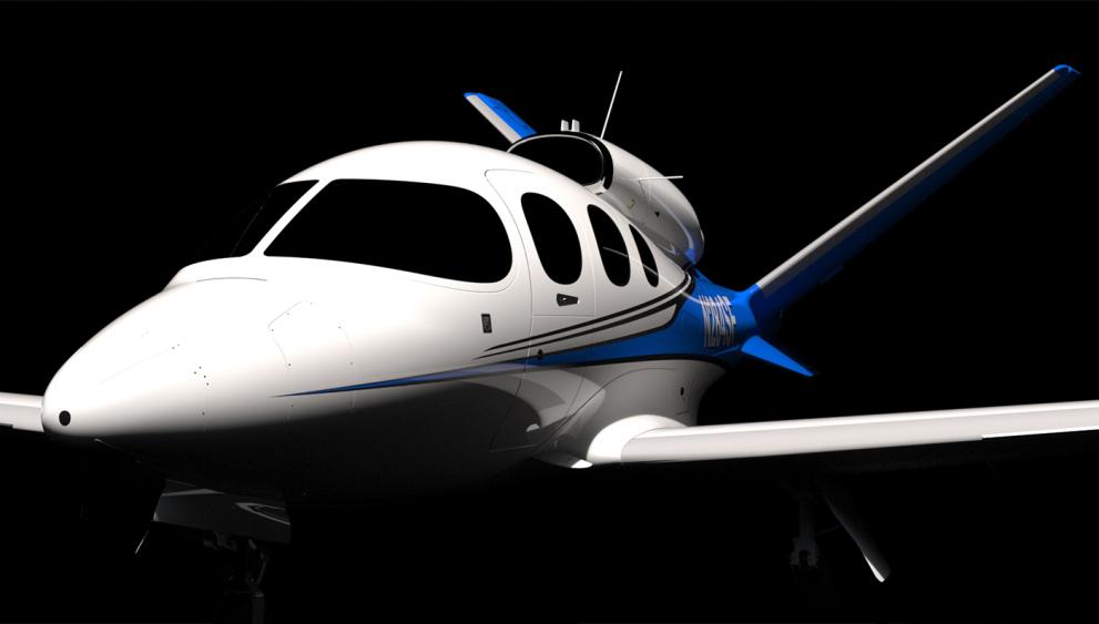 Cirrus Jet Vision - courtesy Cirrus