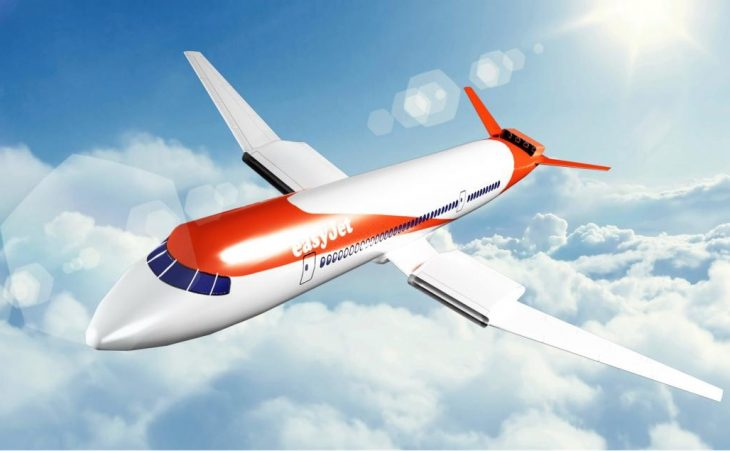 Easy Jet's electric plane