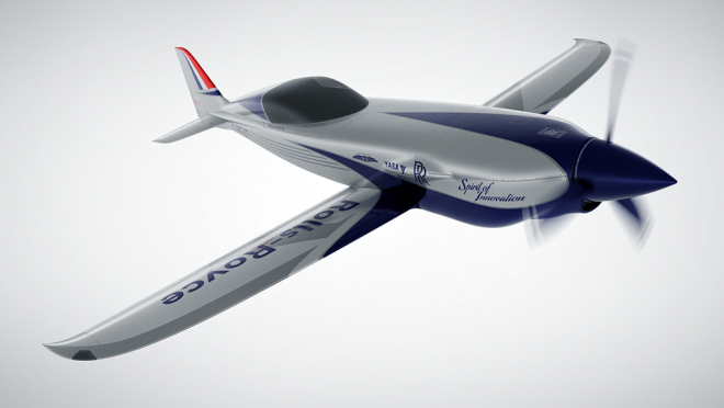 Rolls-Royce Electric Plane-ACCEL - courtesy of Rolls-Royce