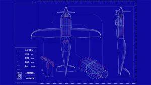 Rolls-Royce Electric Plane - courtesy of Rolls-Royce
