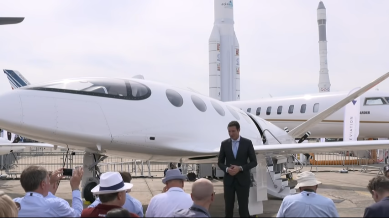 Alice at 2019 Paris air show