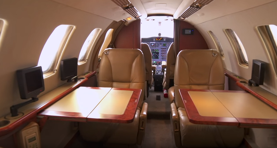 Cessna C525 Citation CJ1 - cabin