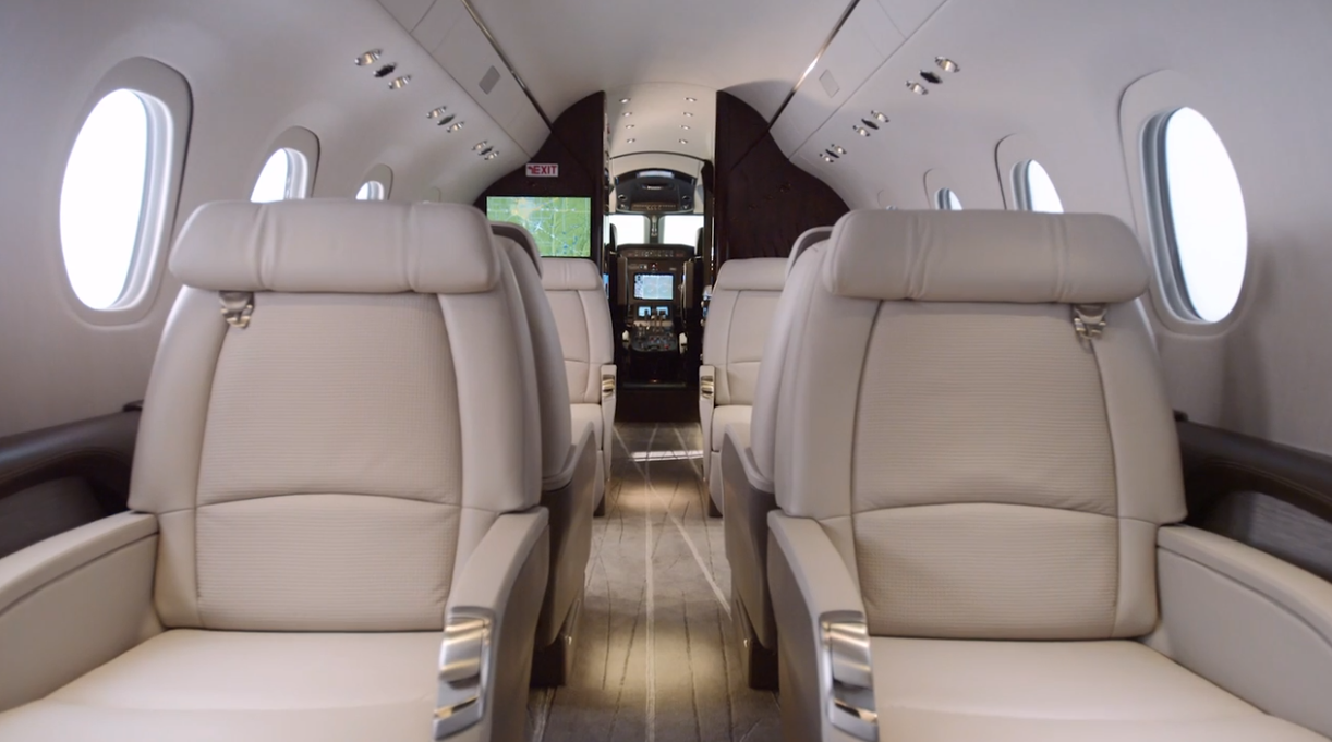Cessna Citation XLS - cabin
