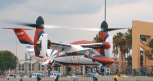 Leonardo AW609 at take-off