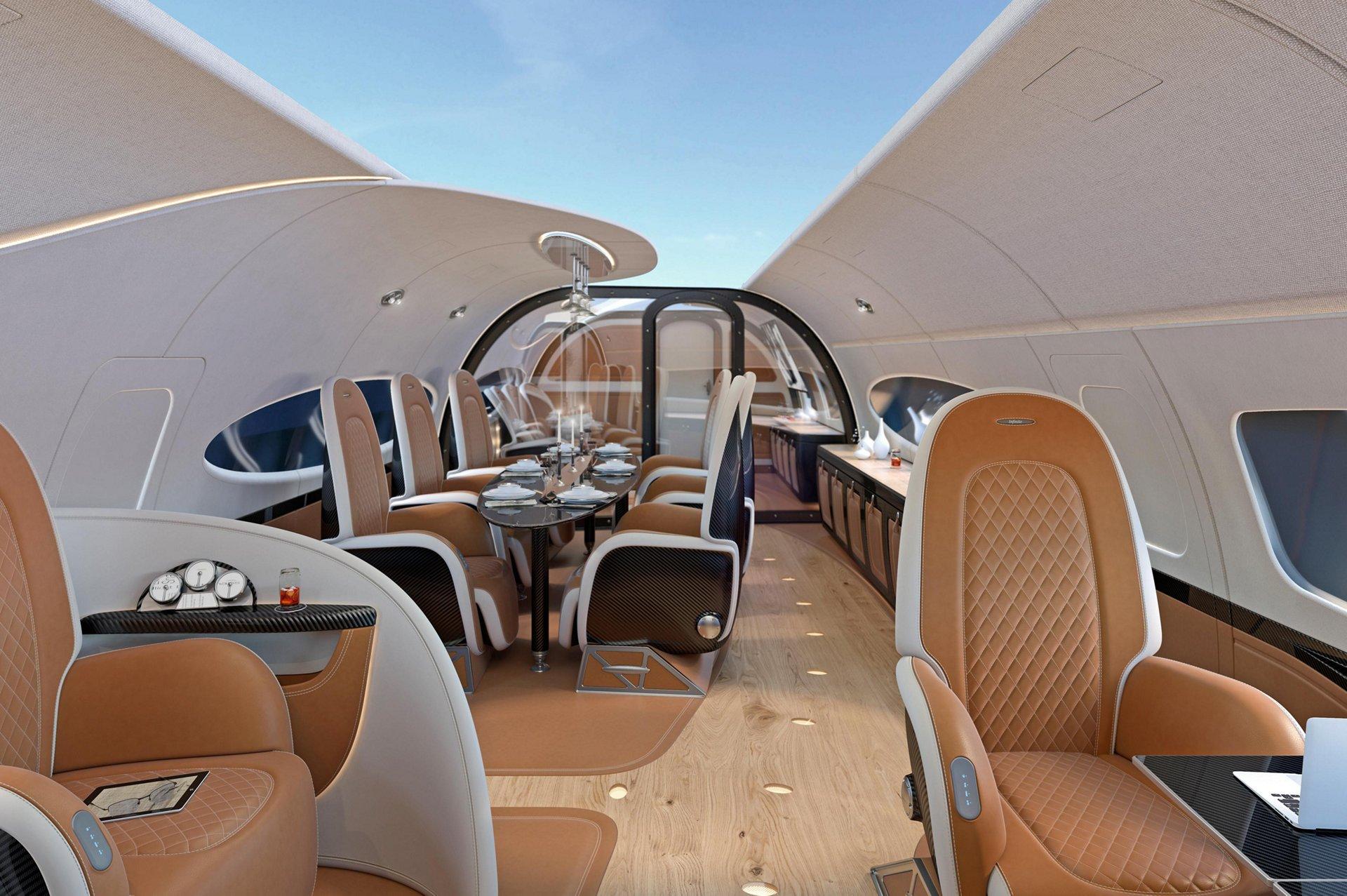ACJ319 Neo Infinito cabin