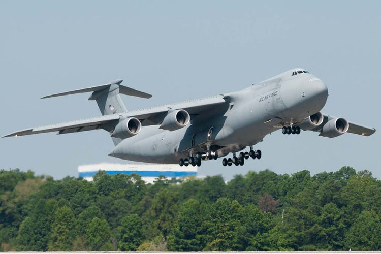 Lockheed Martin C-5M Galaxy. Photo Lockheed Martin