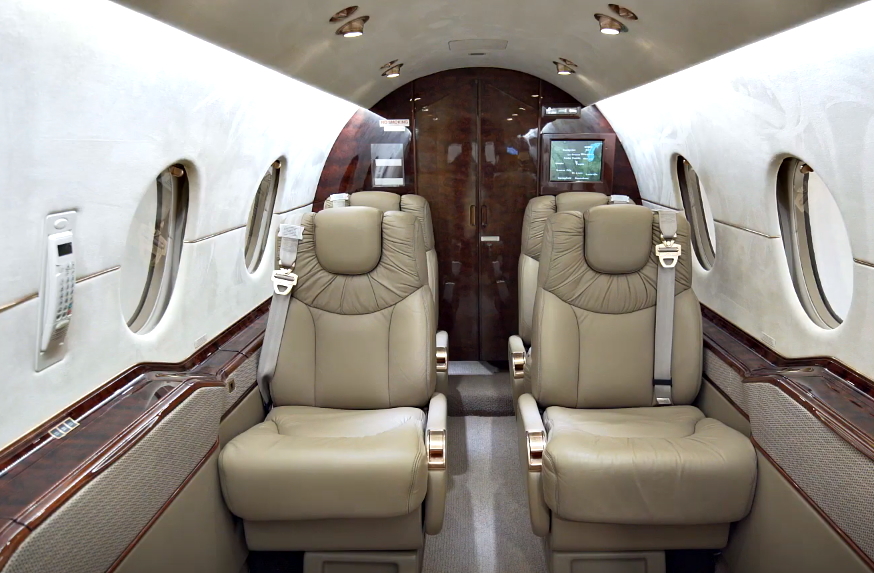 Beechcraft Hawker 400XP - interior