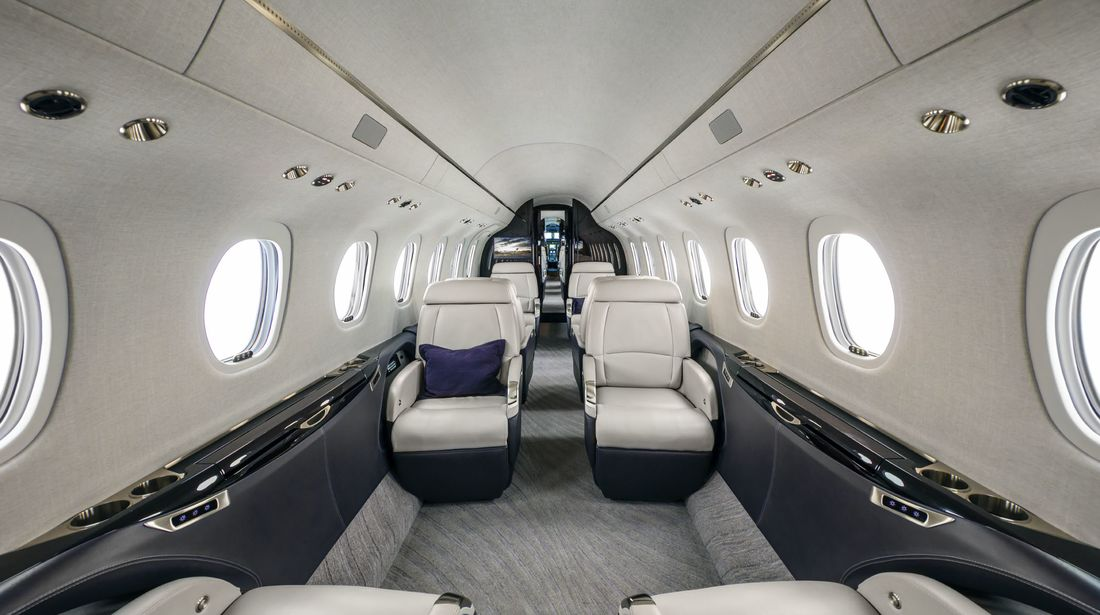 Cessna Citation Longitude - cabin