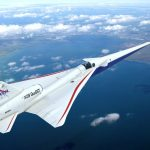 The X-59 QueSST flying - courtesy Lockheed Martin