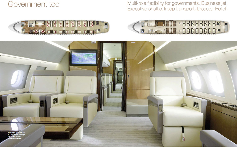 Airbus ACJ320neo-cabin