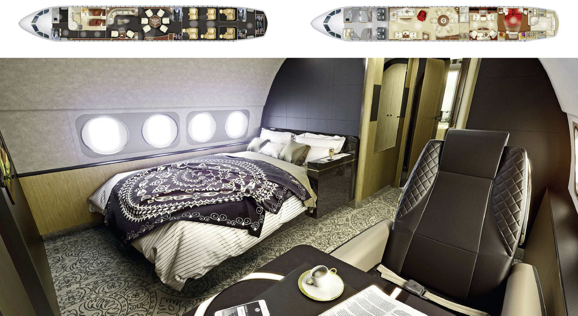 Airbus ACJ320neo-room