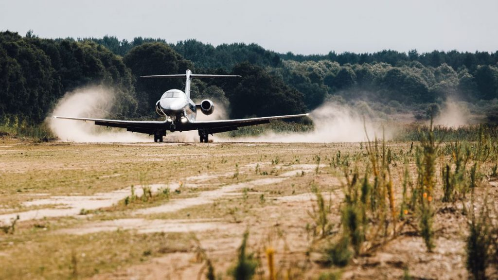 PC-24 becomes an off-roader (Photo Pilatus Aircraft)