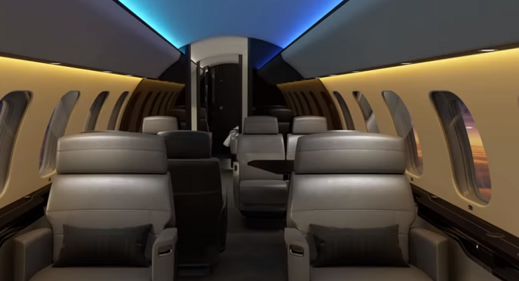 Bombardier Global 7500-Soleil lighting System