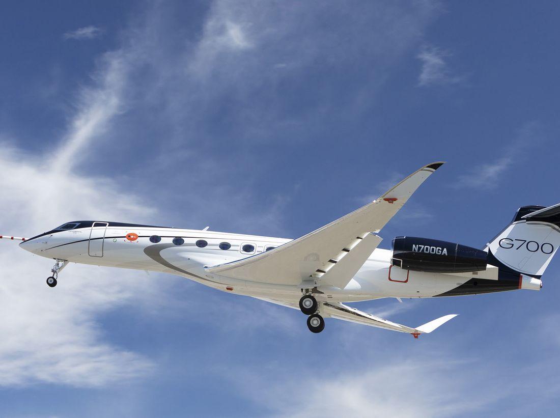 Gulfstream G700 – courtesy Gulfstream-5