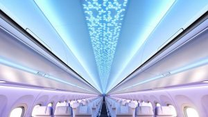 Airspace Cabin A320neo ceiling