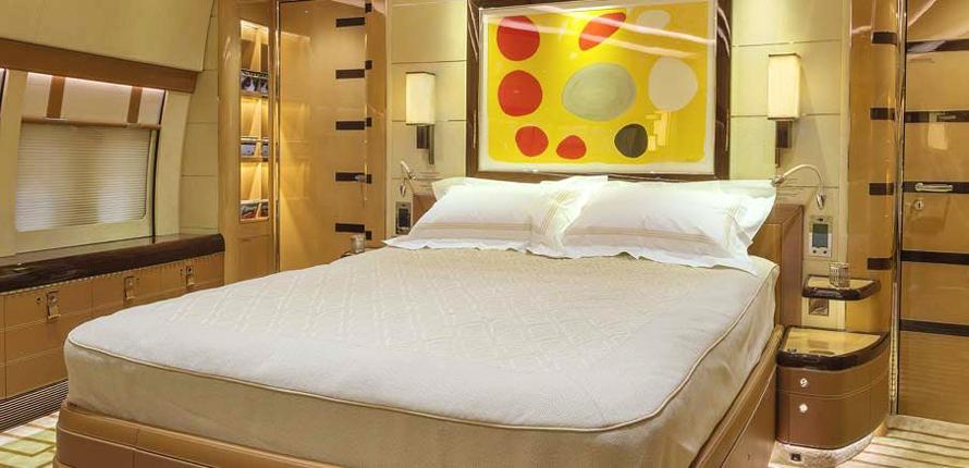 Boeing BBJ 747-8 by Cabinet Alberto Pinto – bedroom