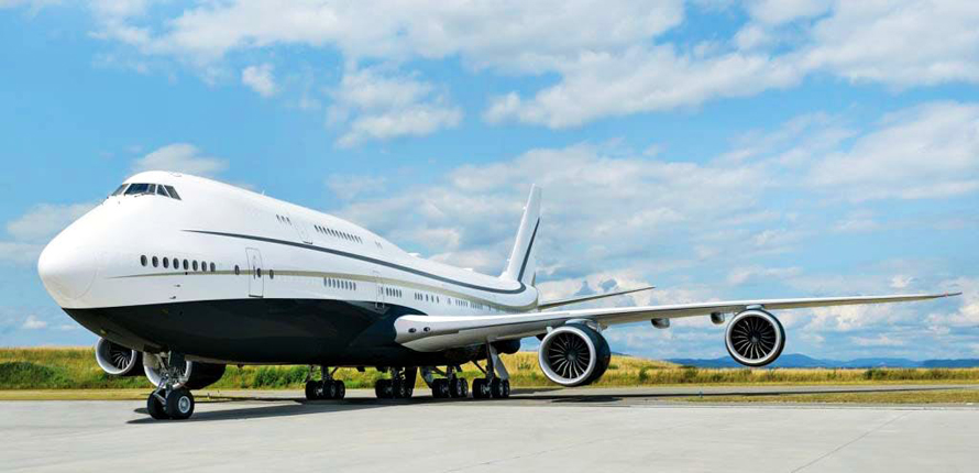 Boeing BBJ 747-8 by Cabinet Alberto Pinto