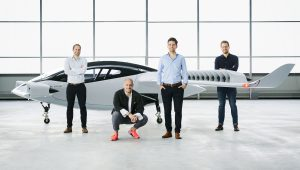 Lilium eVTOL Jet and founders