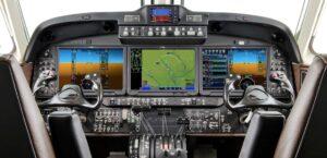King Air 360 - cockpit
