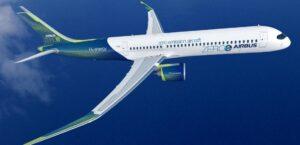 Airbus zero emissions turbofan