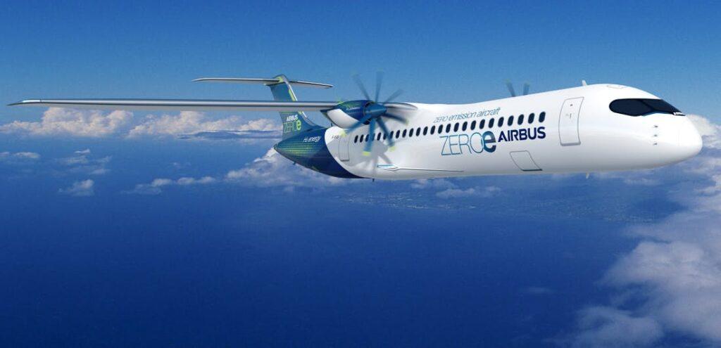Airbus zero emissions turboprop