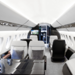 Falcon 6X - Photo courtesy Dassault- cabin