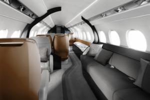 Falcon 6X - Photo courtesy Dassault- cabin-2