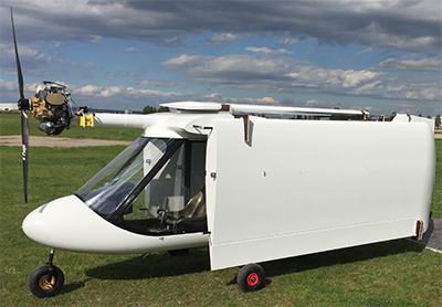 Swan 120 folded