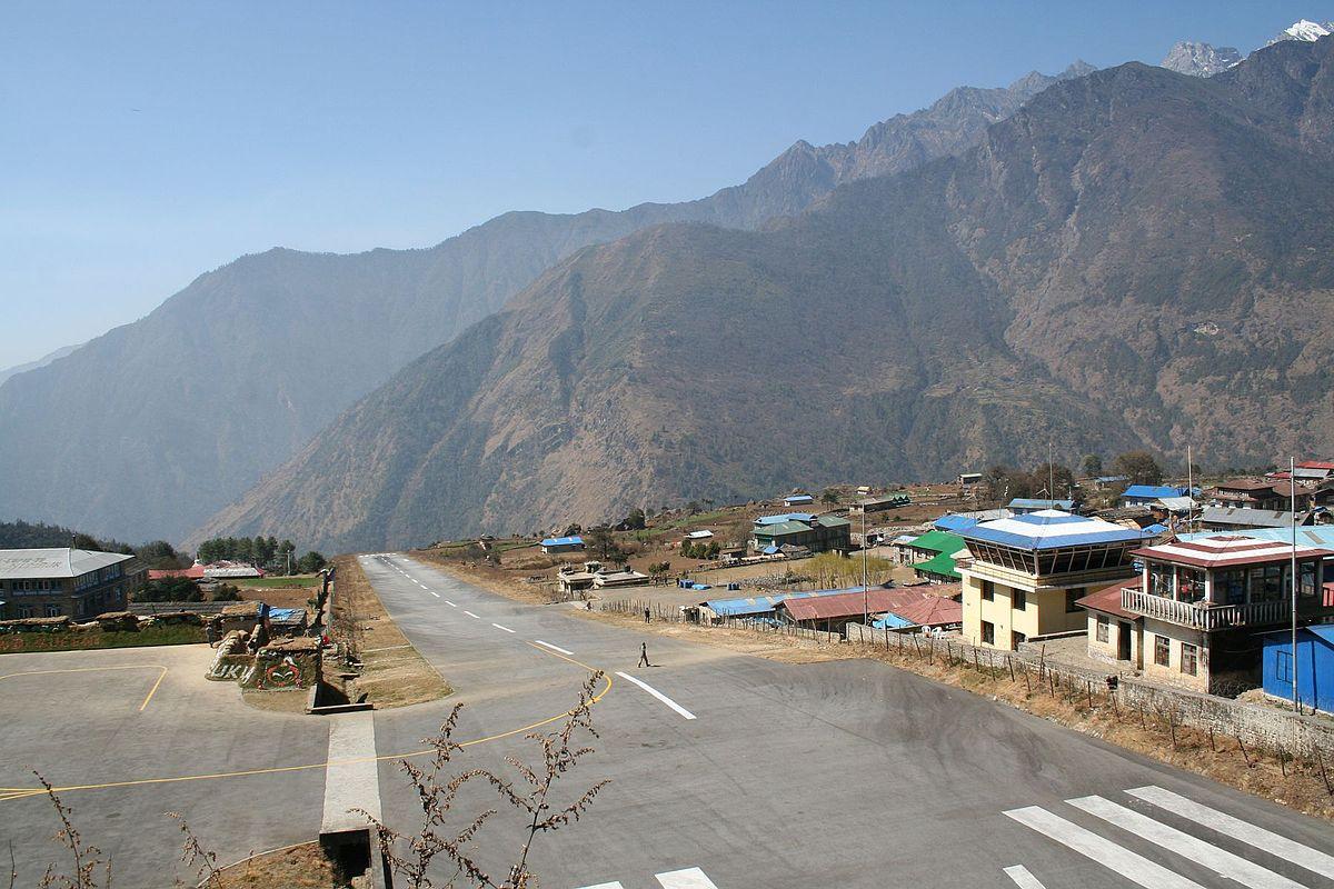 Tenzing Hillary airport - Lukla, Népal