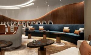ACJ350 Lufthansa-lounge