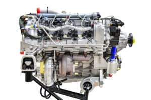 The diesel engine Continental CD-170