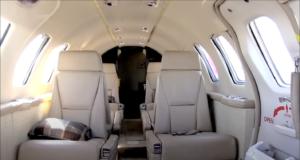 Cessna Citation Bravo - cabin