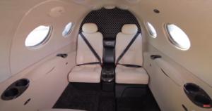 Cessna Citation Mustang - cabin