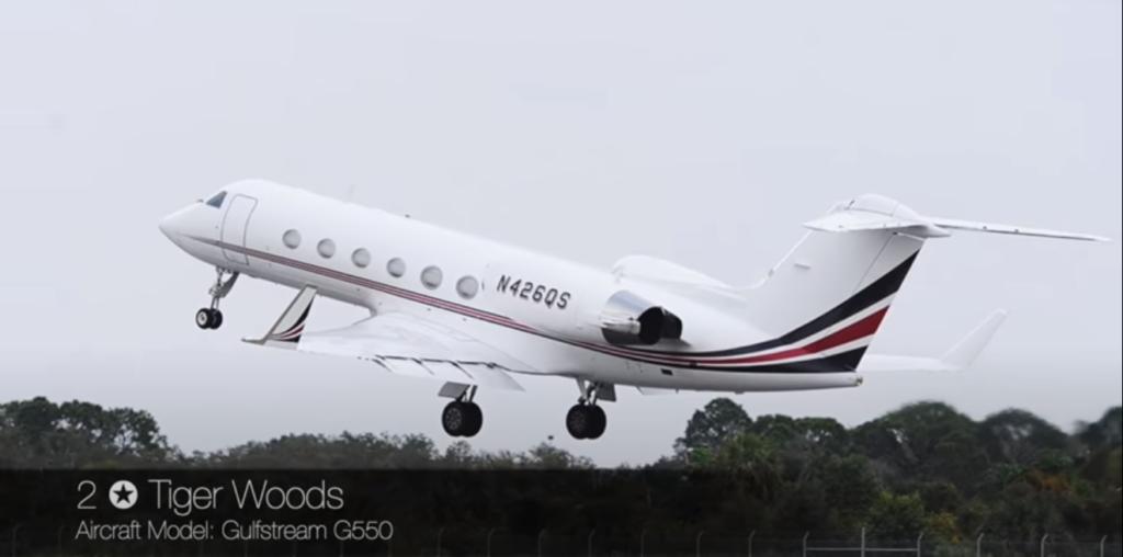Gulfstream G550 - Tiger Woods
