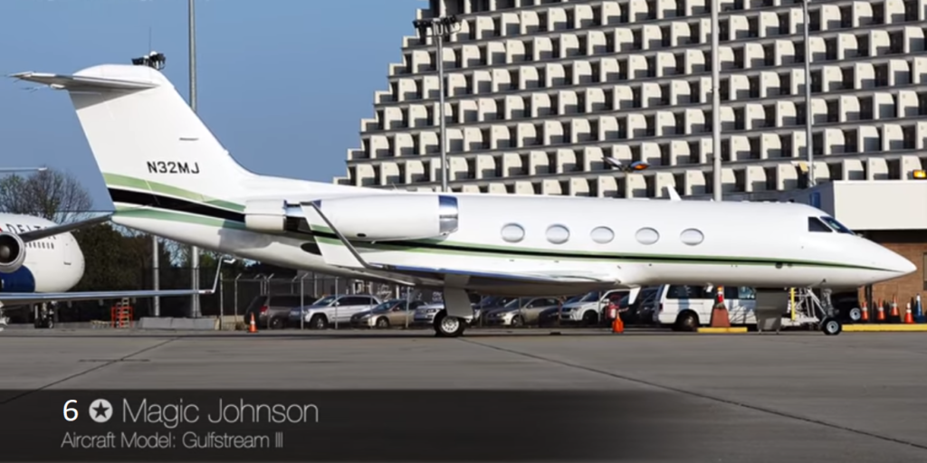Gulfstream III - Magic Johnson