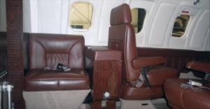 LearJet 24 D - cabin