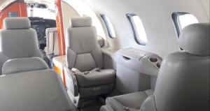 LearJet 31 A - cabin