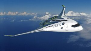 Airbus blended wing hydrogen aircraft