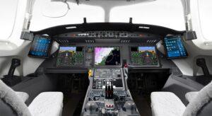 Cockpit - Falcon7X
