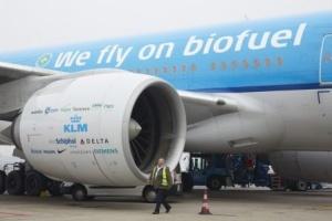 Biofuel powered jet