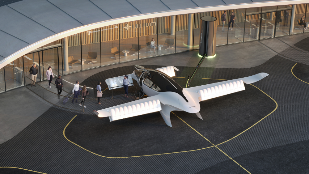 Vertiport project for Lilium Jet - Image Lilium