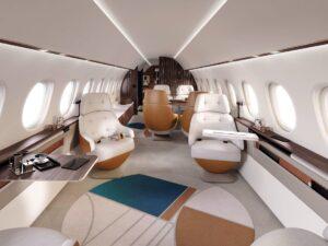 Falcon 10X - cabin