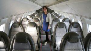 Concorde's interior - Courtesy Jetlinercabins.com and Spiritofconcorde.com