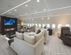 Kestrel Aviation Management - BBJ - Living-2